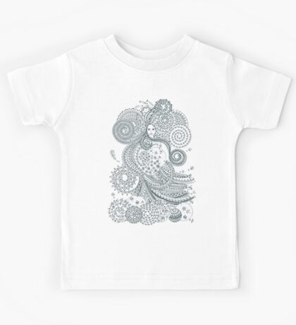 Air - Four mythical elements Kids Tee
