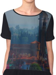 Island off Venice Chiffon Top