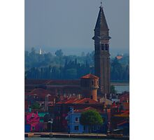 Island off Venice Photographic Print