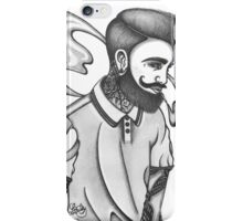 indie rock man iPhone Case/Skin