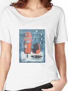 Robo-Tini Women's Relaxed Fit T-Shirt