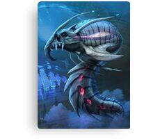Underwater creature_second version Canvas Print