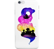 Princess Jasmine Double Exposure! iPhone Case/Skin