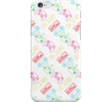 Nintendo Controller Party Pattern iPhone Case/Skin
