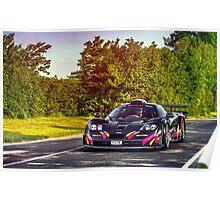 McLaren F1 GTR Long Tail Poster