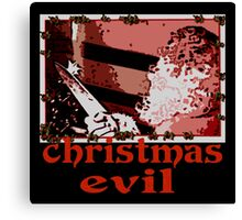 Christmas Evil Canvas Print