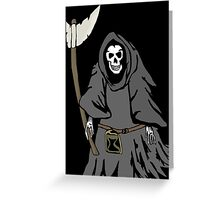 The reaper Greeting Card