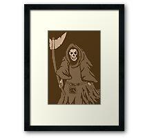 The reaper vintage Framed Print