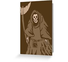 The reaper vintage Greeting Card