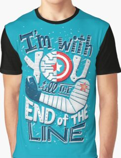 Till the end of the line Graphic T-Shirt