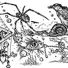 Surreal Doodle by Paul Fleet