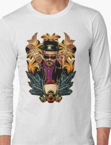 Breaking Bad - Walter White / Heisenberg Tribute Long Sleeve T-Shirt