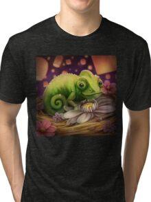 Lizard Under the Lights Tri-blend T-Shirt