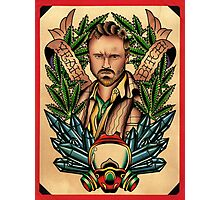 Breaking Bad - Jesse Pinkman Tribute Photographic Print