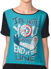 Till the end of the line Chiffon Top