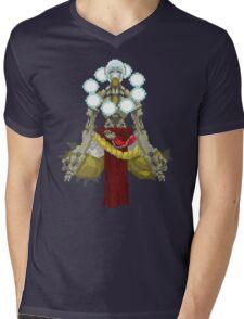 Zenyatta Pixelated  Mens V-Neck T-Shirt