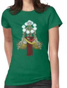 Zenyatta Pixelated  Womens Fitted T-Shirt