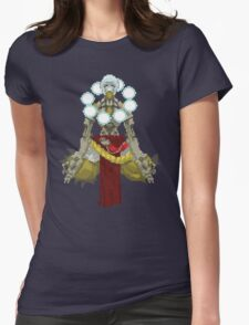 Zenyatta Pixelated  Womens Fitted T-Shirt