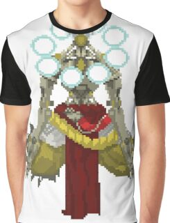 Zenyatta Pixelated  Graphic T-Shirt