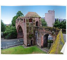Newgate Tower, Chester Poster