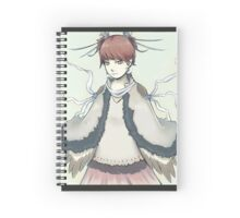 Bird girl - Mind power Spiral Notebook