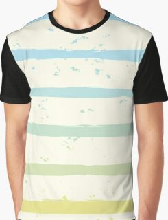 Striped Sea Graphic T-Shirt