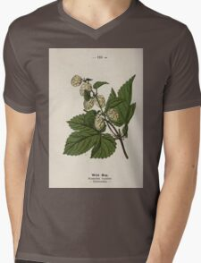 Wayside and woodland blossoms a pocket guide to British wild flowers for the country rambler  by Edward Step 1895 110 Wild Hop T-Shirt