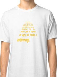 Ulysses 31 Intro Star Wars Text Classic T-Shirt