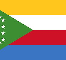 Comoros Flag Products by Mark Podger