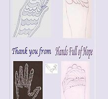 Thanks from Hands of Hope by KazM