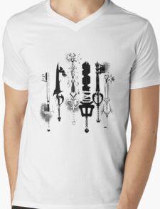 KeyKnives white version Mens V-Neck T-Shirt