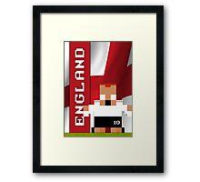 World Cup 2014 - England Framed Print