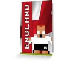 World Cup 2014 - England Greeting Card