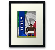 World Cup 2014 - Italy Framed Print