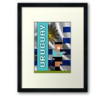 World Cup 2014 - Uruguay Framed Print