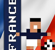 World Cup 2014 - France by pixsoccer
