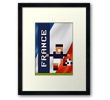 World Cup 2014 - France Framed Print