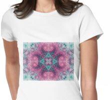 Nirvana Mandala - Abstract Fractal Artwork Womens Fitted T-Shirt