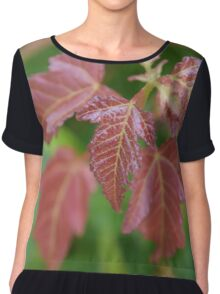 Fall Foliage Chiffon Top