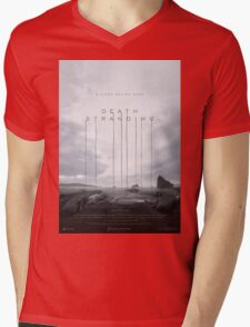 Death Stranding Poster Mens V-Neck T-Shirt
