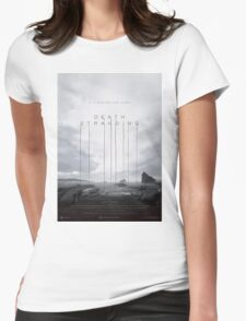 Death Stranding Poster Womens Fitted T-Shirt