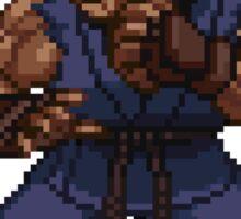 Akuma - Street Fighter Sprite Sticker