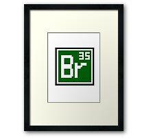 Br Framed Print