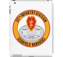 25th Infantry CFMB iPad Case/Skin