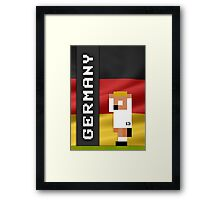 World Cup 2014 - Germany Framed Print