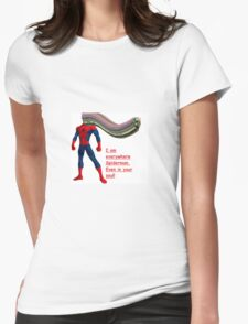 Tundra Comics: SpiderGoblin? Womens Fitted T-Shirt