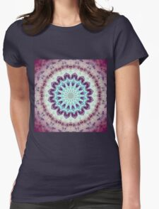 Mandala of Peace - Abstract Fractal Artwork Womens Fitted T-Shirt