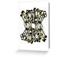 Spun Spoons Greeting Card