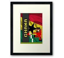 World Cup 2014 - Ghana Framed Print