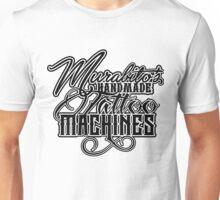 """Murabito""""s Handmade Tattoo Machines in black Unisex T-Shirt"""